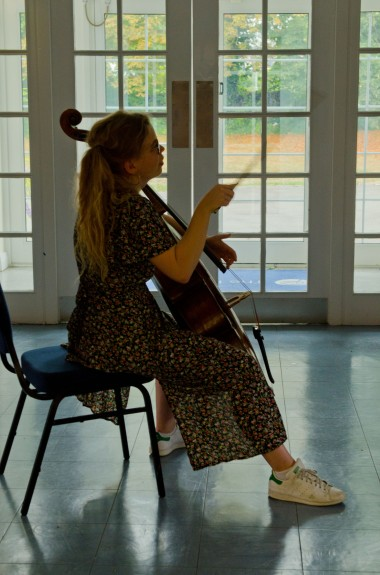 Cellist Héloïse Werner