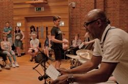 a group of young composers and jazz musicians
