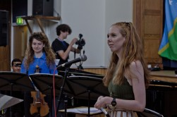 a young composer explains her work